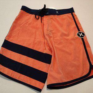 Hurley Phantom Board Short Men Size 30 Orange